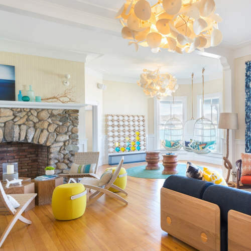 Green Furniture Concept - lampa cu proprietati acustice